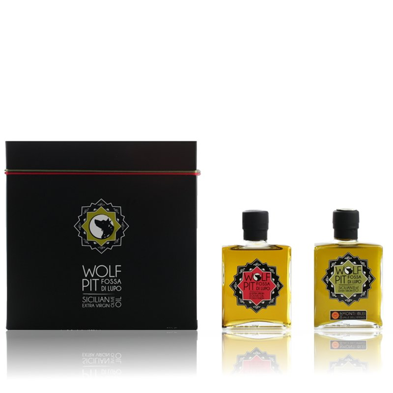 Gift-box 200ml EVOO + 200ml Chilli Fusion